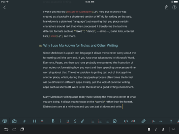 Brief Introduction to Markdown and Why I Use it For Notes and Other